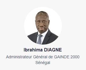 Ibrahima DIAGNE - Administrateur Général de GAINDE 2000 - Sénégal
