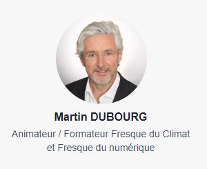 Martin DUBOURG - Animateur Fresque du Climat et Fresque du numérique