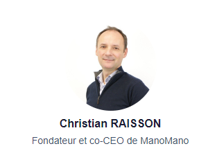 Christian RAISSON - Fondateur et co-CEO de ManoMano
