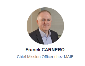 Franck CARNERO - Chief Mission Officer chez MAIF